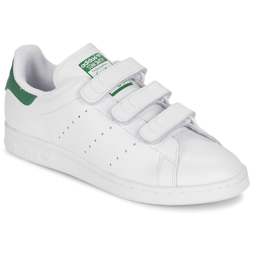 best sneakers newest collection really cheap adidas Originals STAN SMITH CF White / Green - Fast delivery ...