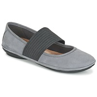 Shoes Women Ballerinas Camper RIGHT NINA Grey