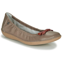 Shoes Women Ballerinas TBS MACASH Taupe