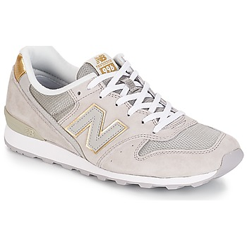 Shoes Women Low top trainers New Balance WR996 Beige