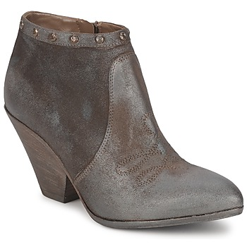 Ankle boots / Boots Strategia MIARO TAUPE 350x350