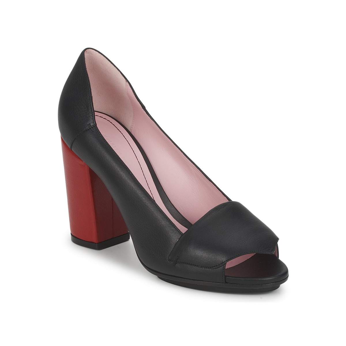 Court-shoes Sonia Rykiel 657940 Black / Red