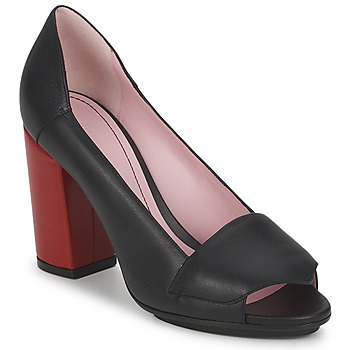 Court-shoes Sonia Rykiel 657940 Black / Red 350x350