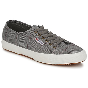 Shoes Men Low top trainers Superga 2750 GALLESU Grey / White