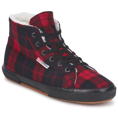 Shoes High top trainers Superga 2095 Red / Black