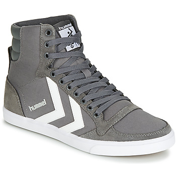 Shoes High top trainers Hummel TEN STAR HIGH Grey / White