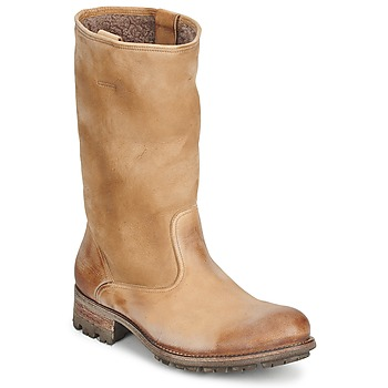 Shoes Women Boots n.d.c. VALLEE BLANCHE KUDUWAXOIL/DFA Brown