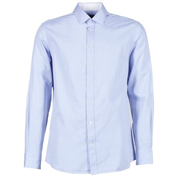 long-sleeved shirts Hackett SQUARE TEXT MUTLI