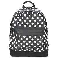 Bags Rucksacks Mi Pac ALL POLKA Black / White