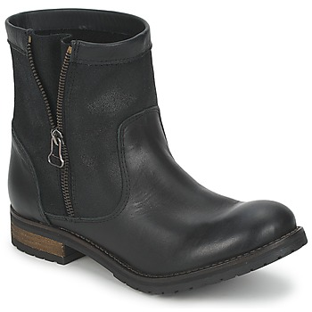 Shoes Women Mid boots Casual Attitude ISPINI Black