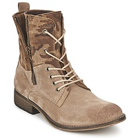 Shoes Women Mid boots Casual Attitude GRIVO TAUPE