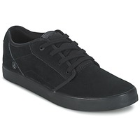 Shoes Men Low top trainers Volcom GRIMM 2 Black