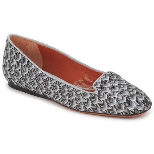 Shoes Women Loafers Missoni WM079 Grey