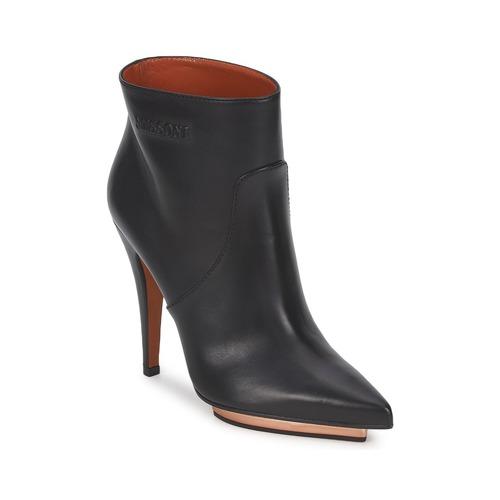 Shoes Women Ankle boots Missoni WM035 Black