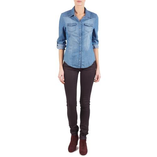 material Women slim jeans Replay LUZ Violet