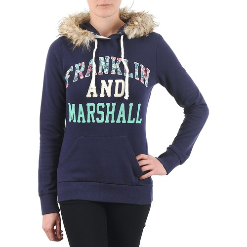 material Women sweaters Franklin & Marshall COWICHAN Marine