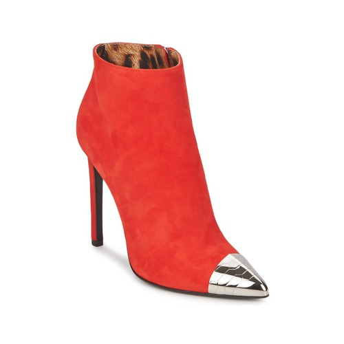 Shoes Women Ankle boots Roberto Cavalli WDS213 Red