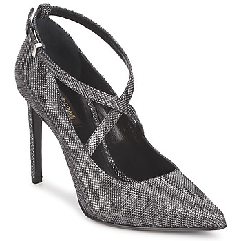 Court-shoes Roberto Cavalli WDS234 Grey 350x350