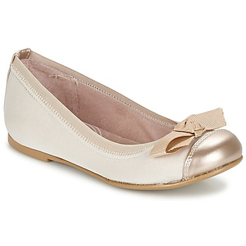 Shoes Girl Ballerinas Garvalin MAT BEIGE