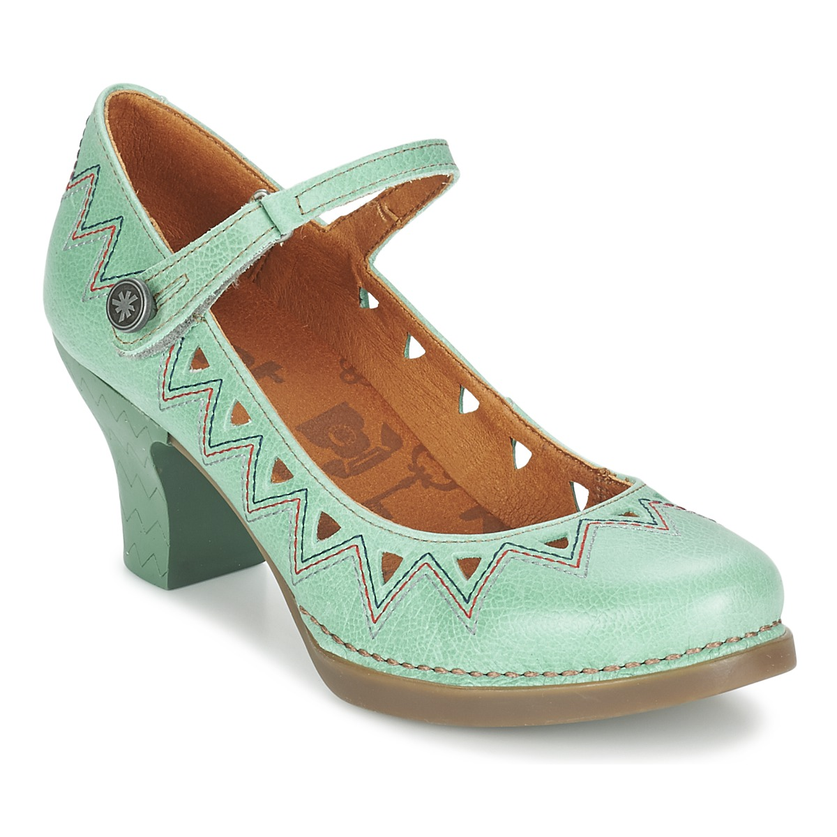 Court-shoes Art HARLEM 943 TURQUOISE