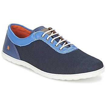 Shoes Men Low top trainers Art QWERTY Blue