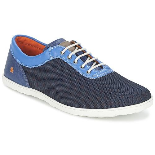 Shoes Men Low top trainers Art QWERTY Blue