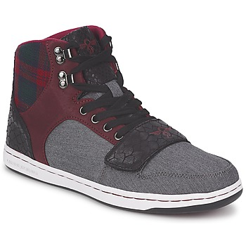 Shoes Men High top trainers Creative Recreation W CESARIO Grey / Brown