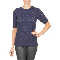 material Women jumpers Gant C. POINTELLE TOP Marine