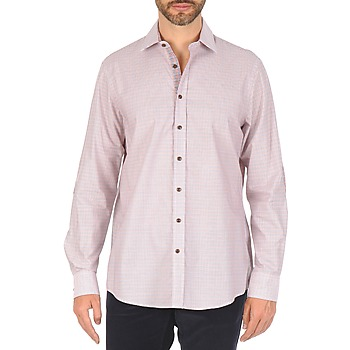material Men long-sleeved shirts Hackett MULTI MINI GRID CHECK Multicoloured