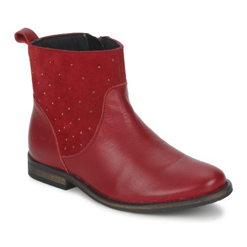 Ankle boots / Boots Citrouille et Compagnie BELFINE Red 350x350