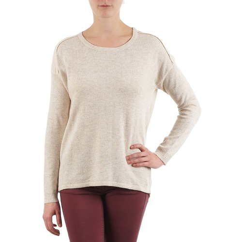 material Women jumpers Color Block 3265194 Beige