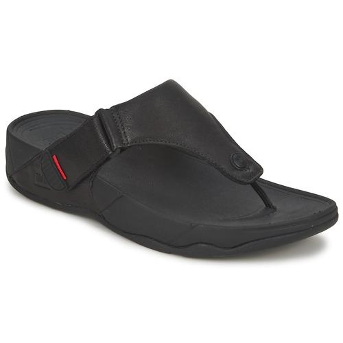 Shoes Men Flip flops FitFlop TRAKK II Black