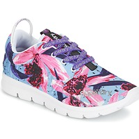 Shoes Women Low top trainers Superdry SUPERDRY SCUBA RUNNER Pink / Blue