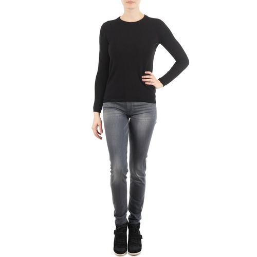 Jeans 7 for all Mankind THE SKINNY DARK STARS PAVE Grey 350x350
