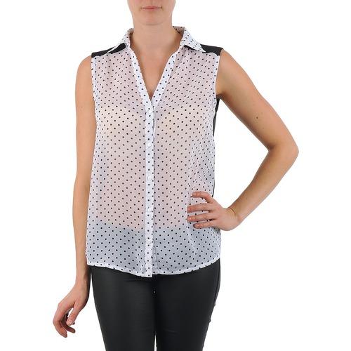 material Women Shirts La City O DEB POIS White