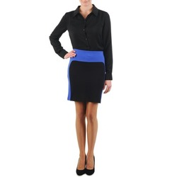 material Women Skirts La City JMILBLEU Black / Blue