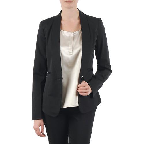 material Women Jackets / Blazers La City FIDELIS Black