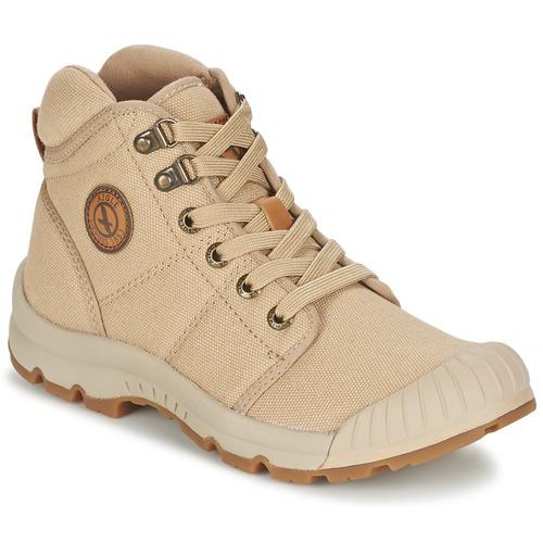 Shoes Women High top trainers Aigle TENERE LIGHT Beige