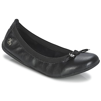 Shoes Women Ballerinas Le Temps des Cerises LILOU Black