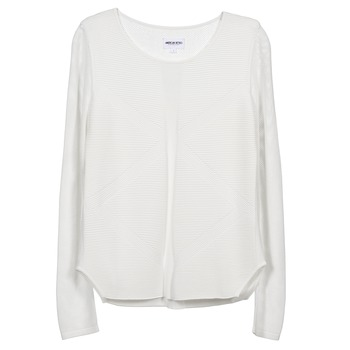 material Women jumpers American Retro GEMMA White