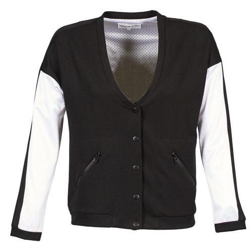 Jackets American Retro CHARONNE Black / White 350x350