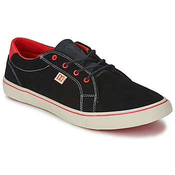 Shoes Women Low top trainers DC Shoes COUNCIL W Black / Red