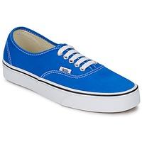 Shoes Low top trainers Vans AUTHENTIC Blue / White
