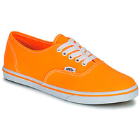 Shoes Women Low top trainers Vans AUTHENTIC LO PRO Orange / Pop