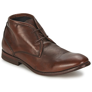 Shoes Men Mid boots Hudson CRUISE Brown