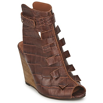 Shoes Women Sandals Dkode THYONE Cognac