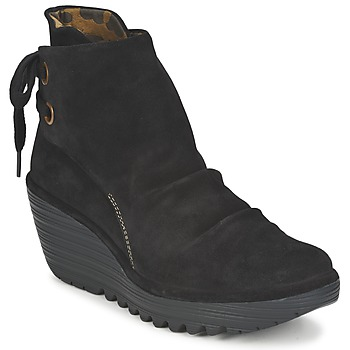 Shoes Women Ankle boots Fly London YAMA Black
