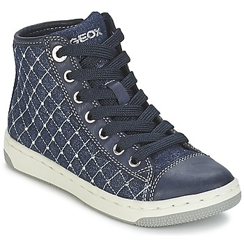 Shoes Girl High top trainers Geox CREAMY B MARINE