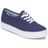 Shoes Women Low top trainers Keds TRIPLE EYELET MARINE