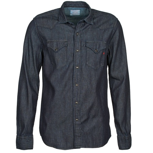 material Men long-sleeved shirts Replay M4860N Grey